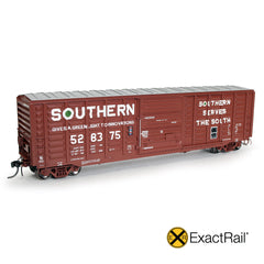 "HO Scale: P-S 5277 ""Waffle"" Boxcar : SOU : 1971 'As Delivered'"