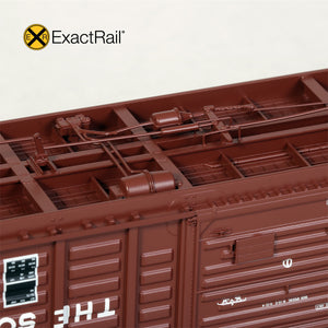 "HO Scale: P-S 5277 ""Waffle"" Boxcar - SOU - 1971 'As Delivered'"
