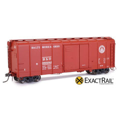 HO Scale: B&O M-53 Wagontop Boxcar - Post War - Linking Great States
