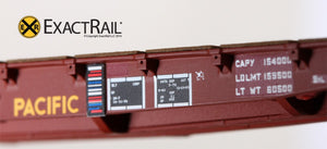 "GSC 53'-6"" Flat Car : 43'-3"" Truck Centers : UP - MOW : 59560 - ExactRail Model Trains - 5"