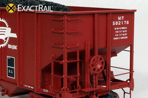 Bethlehem 3737 Hopper : MP : As Delivered 582000-582499 - 6/79 - ExactRail Model Trains - 3
