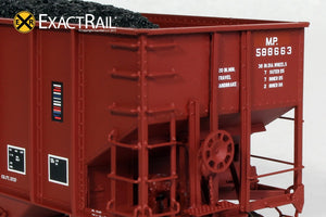 Bethlehem 3737 Hopper : MP : 588663 - ExactRail Model Trains - 3
