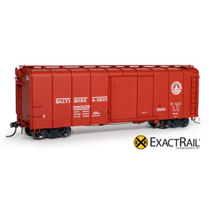 HO Scale: B&O M-53 Wagontop Boxcar - Early 13 Great States