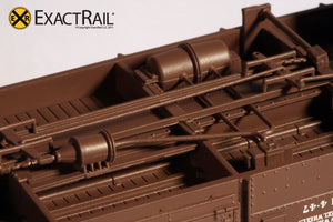 B&O M-53 Wagontop Boxcar : Wartime Kuhler - ExactRail Model Trains - 6