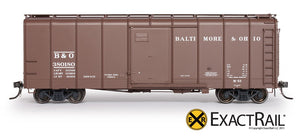 B&O M-53 Wagontop Boxcar : 1937 - ExactRail Model Trains - 2