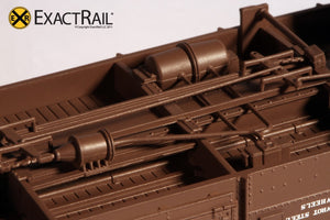 B&O M-53 Wagontop Boxcar : 1937 - ExactRail Model Trains - 4