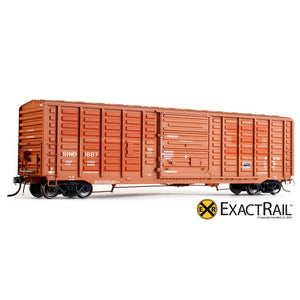 "HO Scale: P-S 5277 ""Waffle"" Boxcar - SIND"