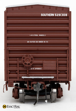 X - PS 50' Waffle Box Car : SOU - ExactRail Model Trains - 2