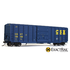 PS 50' Waffle Boxcar : CSXT - ExactRail Model Trains - 1