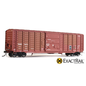 "HO Scale: P-S 5277 ""Waffle"" Boxcar - DME"