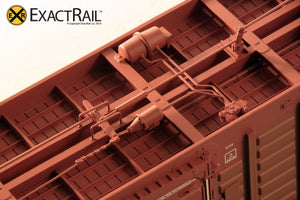 PS 50' Waffle Boxcar : DME - ExactRail Model Trains - 4