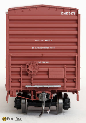 PS 50' Waffle Boxcar : DME - ExactRail Model Trains - 5