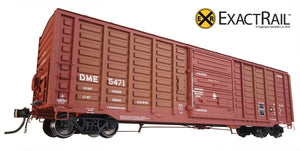 PS 50' Waffle Boxcar : DME - ExactRail Model Trains - 7