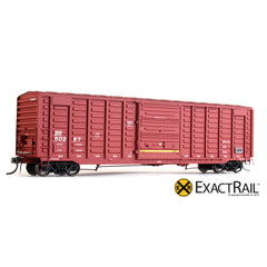 PS 50' Waffle Boxcar : BR - ExactRail Model Trains - 1