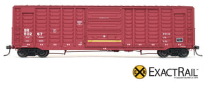 PS 50' Waffle Boxcar : BR - ExactRail Model Trains - 2