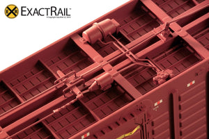 PS 50' Waffle Boxcar : BR - ExactRail Model Trains - 5