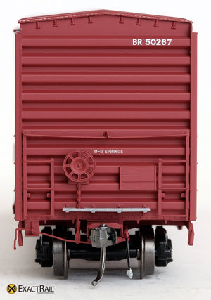 PS 50' Waffle Boxcar : BR - ExactRail Model Trains - 3