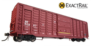 PS 50' Waffle Boxcar : BR - ExactRail Model Trains - 7