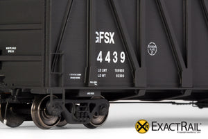 X - Gunderson 7466 Wood Chip Gondola : GFSX - ExactRail Model Trains - 5
