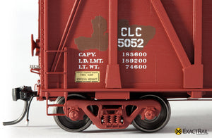 X - Gunderson 7466 Wood Chip Gondola : CLC - ExactRail Model Trains - 5