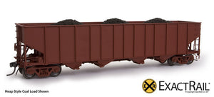 Coal Loads - Bethlehem 3737 Hopper - ExactRail Model Trains - 2