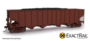 Bethlehem 3737 Hopper : MP : 588663 - ExactRail Model Trains - 6