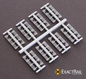 Details - Apex Cross-Over Walk, B-end - ExactRail Model Trains - 2