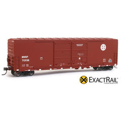 HO Scale: Gunderson 5200 Box Car - BNSF
