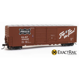 HO Scale: Gunderson 5200 Box Car - SLSF