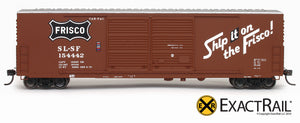 X - Gunderson 5200 Box Car : SLSF - ExactRail Model Trains - 4