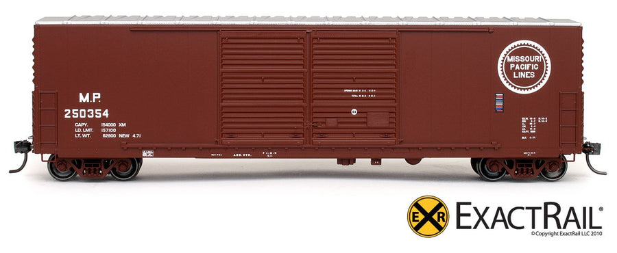 HO Scale: Gunderson 5200 Boxcar - MP