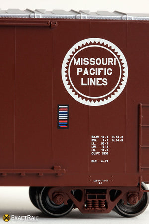 Gunderson 5200 Boxcar : MP - ExactRail Model Trains - 6