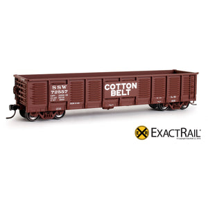 HO Scale: Gunderson 2420 Gondola - SSW 'Cotton Belt'