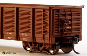 Gunderson 2420 Gondola : SSW - ExactRail Model Trains - 3