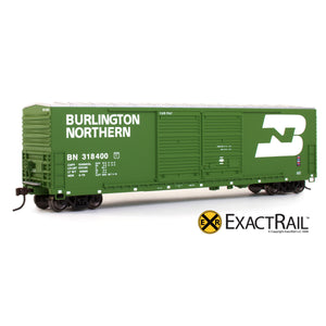 HO Scale: Gunderson 5200 Box Car - BN