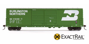 X - Gunderson 5200 Box Car : BN - ExactRail Model Trains - 2