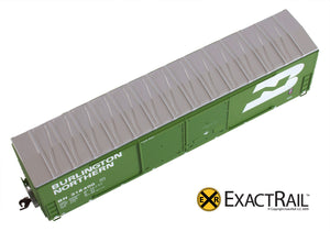 X - Gunderson 5200 Box Car : BN - ExactRail Model Trains - 3