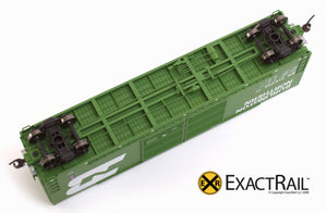 X - Gunderson 5200 Box Car : BN - ExactRail Model Trains - 4
