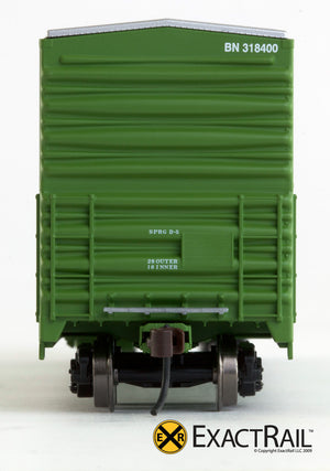X - Gunderson 5200 Box Car : BN - ExactRail Model Trains - 5
