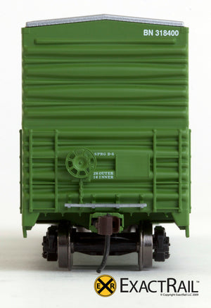 X - Gunderson 5200 Box Car : BN - ExactRail Model Trains - 6