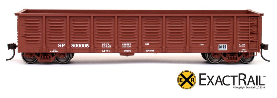 HO Scale: Gunderson 2420 Gondola - Southern Pacific