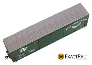 X - Gunderson 5200 Box Car : GM&O - ExactRail Model Trains - 2