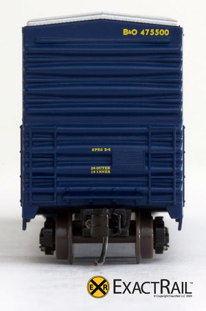X - N - Gunderson 5200 Box Car : B&O - ExactRail Model Trains - 5