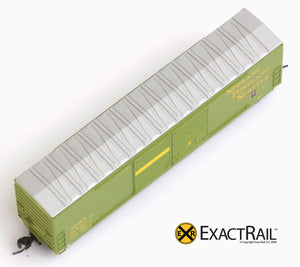X - N - Gunderson 5200 Box Car : SP&S - ExactRail Model Trains - 3