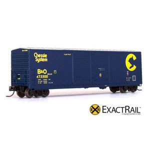 N Scale: Gunderson 5200 Box Car - B&O