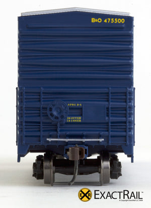 X - Gunderson 5200 Box Car : B&O - ExactRail Model Trains - 5