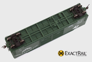 X - Gunderson 5200 Box Car : GM&O - ExactRail Model Trains - 4