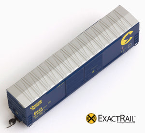 X - N - Gunderson 5200 Box Car : B&O - ExactRail Model Trains - 2