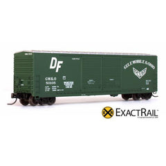 N Scale: Gunderson 5200 Box Car - GM&O