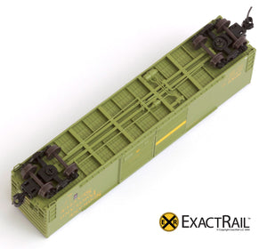 X - N - Gunderson 5200 Box Car : SP&S - ExactRail Model Trains - 5